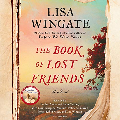 The Book of Lost Friends audiobook cover art