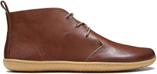 VIVOBAREFOOT Gobi Lux, Mens Handcut Lace Up Desert Boot With Barefoot Sole