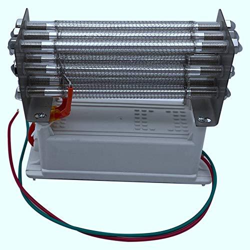 Fauge Generador de Ozono 27G Purificador de Aire O3 Tubo de Cuarzo Ozonizador de Aire Electrodo de Acero Inoxidable Ozonizador Purificador de Aire Limpiador