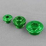 JIANXING Durable con Estilo CNC Aluminium Motor Timing Filter Filter Set para K-A-A-A-A-S-A-K-I KX250F 2011-2016 KX450F 2009-2016 KLX450R 2008-2015 Fácil de Instalar (Color : Default)