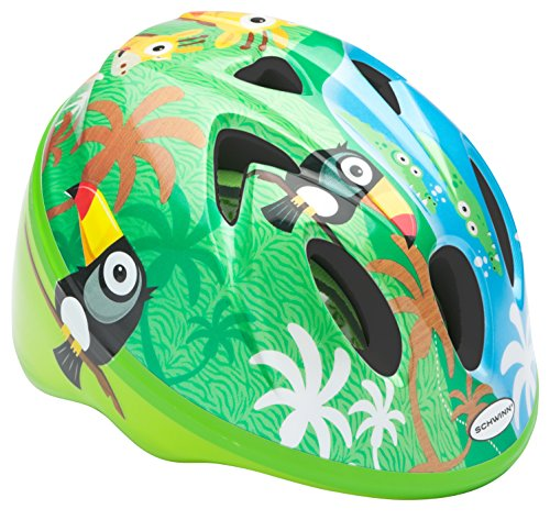 Schwinn Infant Bike Helmet Classic Design, Ages 0-3 Years, Jungle