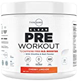 Ultra Clean Stim Free Pre Workout & Nitric Oxide Booster by Type Zero - Beet Root, AKG Arginine and...