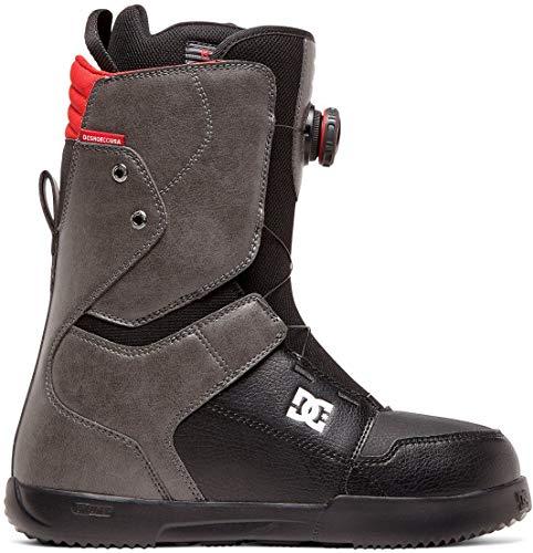 DC Scout Boa Bottes de Snowboard pour Homme, Gris/Noir, 10.5 D US