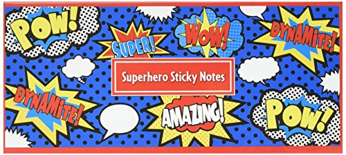 Teacher Created Resources Superhero Sticky Notes (5664)