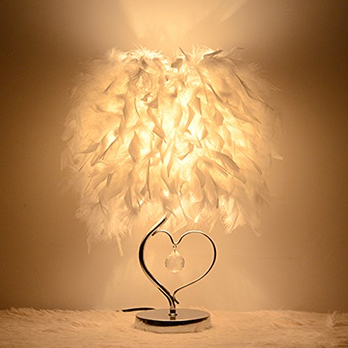 Maso Home Book Lights Minimalist Solid Feather Table Lamp Bedside Desk LampMS-61361
