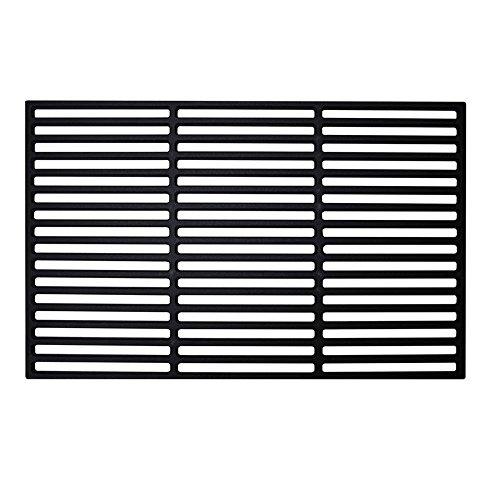 MCTECH® Gusseisen Grillrost Gussrost Emailliert Grillgitter Grill, für Holzkohlegrill, Gasgrill und mehr (40 x 60 cm, Rechteck)
