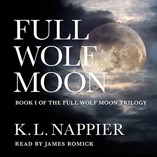 Full Wolf Moon audiobook cover art
