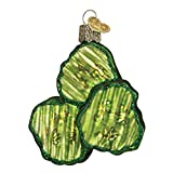 Old World Christmas Ornaments: Pickle Chips Glass Blown Ornaments for Christmas Tree