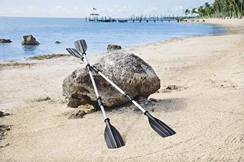 Bestway 2 Piece Aluminium Oars - Black