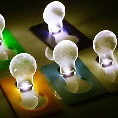 Bluelover Sterren haas opvouwbare lamp papier LED-lamp licht portemonnee greeting kaartjes