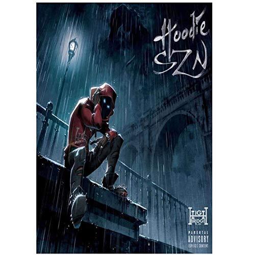 Mural Hot Hoodie Szn Hip Hop Music A Boogie Rap Album Painti