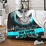 MariaDMiller Hollywood Undead New Empire Sherpa Throw Blankets Super Soft Blanket Warm Fleece Blanket for Bed and Living Room 50'X40'