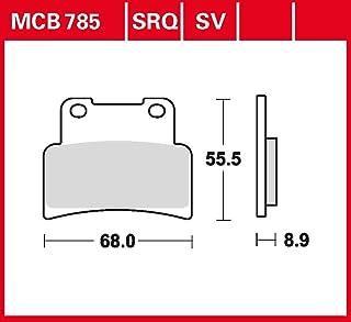 Bremsbelag TRW Sinter Street Hochleistungsbelag MT 125 ABS RE11 15 16 vorne