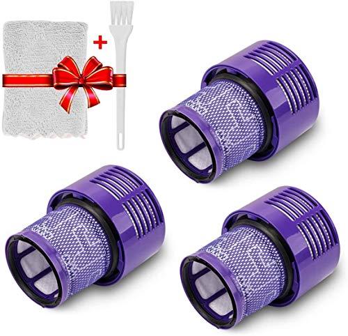 Home Spare Parts – Filtre de rechange compatible pour Dyson V11 SV14, aspirateur sans fil, modèle sans fil, kit de 3 filtres de rechange HEPA, filtre Dyson, accessoires Dyson |