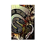 Barron's Kukri Schlange Poster, dekoratives Gemälde,