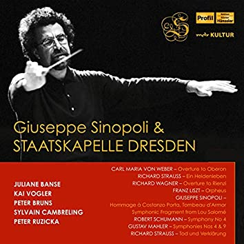 Mahler, R. Schumann, Sinopoli & Others: Orchestral Works (Live)