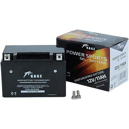 Yt12a Bs Gel Batterie Für Gsx R 1000 Baujahr 2005 2016 Von Jmt Auto