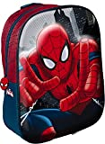 Star Licensing Marvel Spiderman Mochila 3D para niños, multicolor
