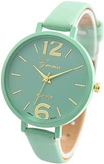 Best geneva watch mint green Reviews