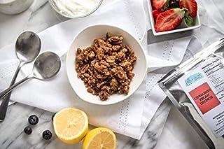 Lolli's Low Carb Granola, Keto Friendly, Low Glycemic, Gluten Free, Grain Free - 8 Oz (Cinnamon Pecan Crunch)