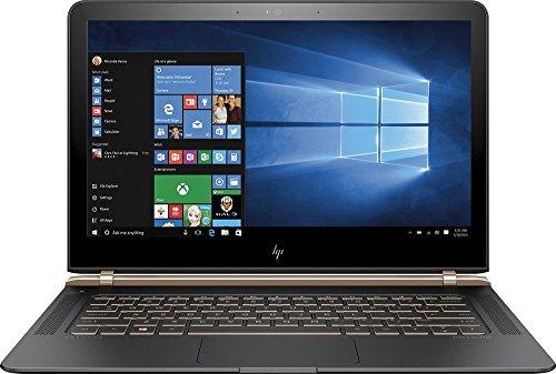 """HP Spectre(6th Gen. Intel Core i7-6500U, 8GB LPDDR3, 256GB SSD, Full HD, Backlit Keyboard) 13.3"""" Thinnest Laptop PC"""