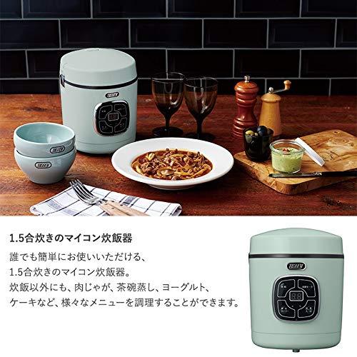 K-RC2-PA(PALEAQUA)マイコン炊飯器1.5合
