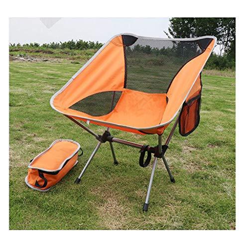 JIAAN Campingstuhl Angelstuhl Campingstühle faltbar klappbar tragbar Angel Stuhl Camping Stuhl verstellbar Strandstuhl Angelstuhl Klapphocker mit kleinem Packmaß