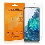 kwmobile 3X Schutzfolie kompatibel mit Samsung Galaxy S20 FE - Folie klar - Bildschirmschutzfolie Bildschirmschutz transparent Bildschirmfolie