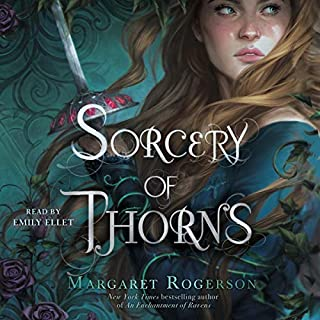 Page de couverture de Sorcery of Thorns
