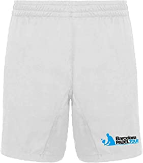 Barcelona Padel Tour | Shorts with Pockets for Men | Shorts in Lightweight and Breathable Fabric with Special Padel Print...