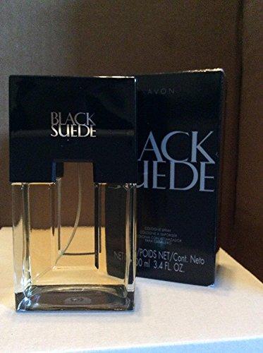 Black Suede Eau de Toilette Spray for Men 3.4 fl oz
