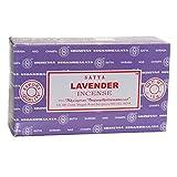 Satya - Incienso Natural de Lavanda, 15 g