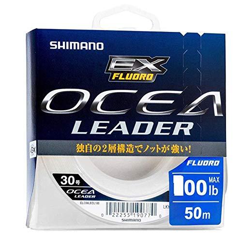 SHIMANO Fluorocarbone Ocea EX Fluoro Leader Clear 50m - D.0,41mm - R.25lb - 59WCLO36L1C
