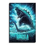 FINDEMO Godzilla King (1) Poster, dekoratives Gemälde,