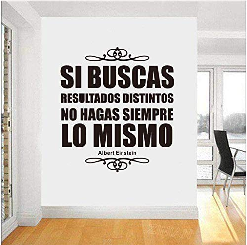 Pegatinas de pared Vinilo Art Deco Vinilos Interiores Einstein Maxim Xinjia House House 40x45cm