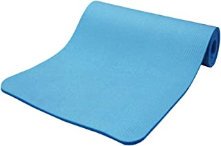 comprar comparacion Hzb821zhup Esterilla de yoga con rayas horizontales de 15 mm de grosor, antideslizante, para hacer ejercicio, yoga o pilates
