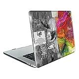 TwoL Funda MacBook Air 13 A1932, Ultra Delgado Carcasa Rígida Protector de Plástico Cubierta para MacBook Air 13 2018 Modelo: A1932 con Retina Display/Touch ID Cerebro Creativo