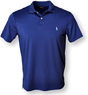 Mens Performance Interlock Polo Shirt
