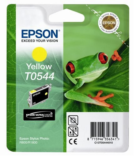 Epson T0544 Tintenpatrone Frosch, Singlepack gelb