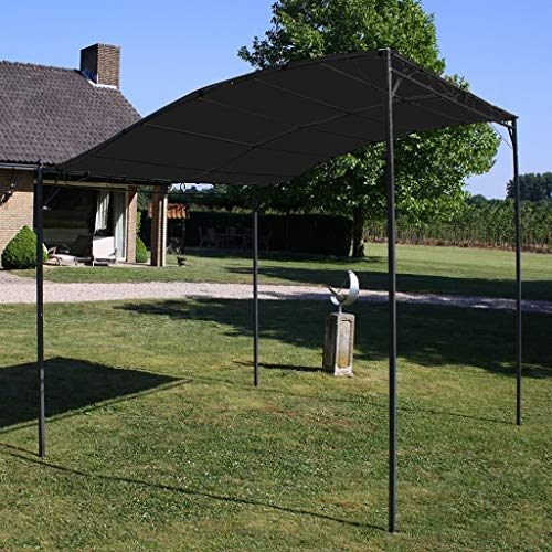 Festnight Sunshade Awning Canopy Gazebo for Family Gatherings, Barbecues, Afternoon Picnics, Camping 3x2.5 m Anthracite