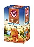 Teekanne frio Classic Eistee Pfirsich, 5er Pack (5 x 18 Teebeutel), 5 x 45 g