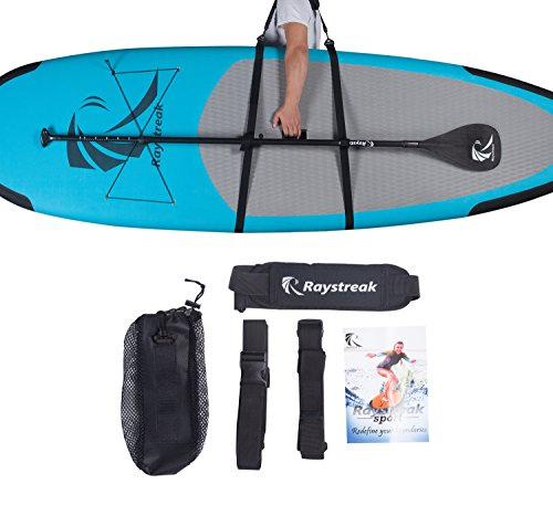 Raystreak Carry Strap Stand Up Paddle Board Padded Carrier & Storage Sling & Easy Carry Strap SUP Shoulder Sling with Drawstring Bag