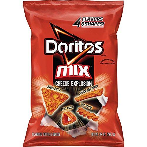 Doritos Mix, Cheese Explosion, 9.25 Ounce