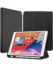 ESR Funda para iPad 8ª (2020)/7ª (2019) generación 10,2 Pulgadas con Soporte para el Pencil [Soporte Tríptico] [Modo Automático de Reposo/Actividad] Serie Rebound - Negro