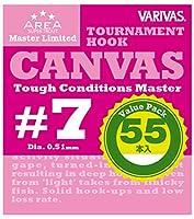 VARIVAS(バリバス) スーパートラウトエリア マスターリミテッド トーナメントフック キャンバス バリューパック #7.