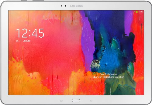 Samsung Galaxy TabPro 12.2 Tablet, Wi-Fi, 32 GB, Bianco