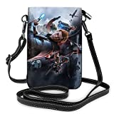 Star-Wars Crossbody Bag - Cell Phone Purse -Quilt- Fits All Phones-Sports Armband Outdoor Sweat-Proof Running Armbag Cross-Body Shoulder Casual Wallet Purse Gym Fitness Cell Phone Bag