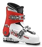 Roces Botas de esquí Idea, niños Unisex, Blanco/Rojo/Negro, MP 19.0-22.0