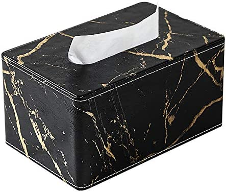 Faux Leather Marble Texture Hol Tissue Under blast specialty shop sales Decorative Box