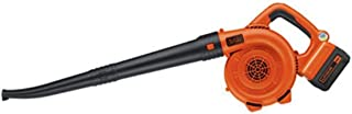 Barredora de iones de litio Black and Decker de 40 V, Incluye batería de 40V, 24, Negro